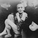 15 Yr. Old Ivan Dudnik Rescued by Red Cross from Auschwitz