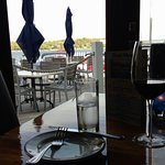 The view from our table at Pier 290