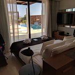Two bedroom villa with private pool (Master Bedroom)