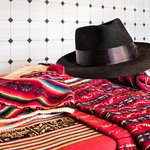 Some of the knits and woven items made on Taquile Island