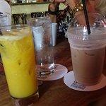 Cappuccino & Fresh Orange Juice!