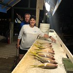 Yellowtail Snapper on an evening half day with Mary Pat and John!