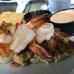 The Lighthouse-- shrimp, scallops, crabcake