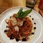 Spaghetti amatrice