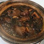 Black Vinegar Pork Stew in Claypot