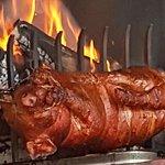 Cochon de lait au barbecue