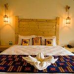 Wildlife inpired rooms at Tarangi