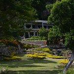 The Rockwater Garden Promenade to Rooms & Suites.