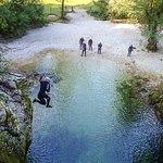 Amazing Canyoning near Lake Bled, Slovenia