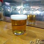 Caña Cruzcampo, Cafetería Bar er Tapeillo, Almuñécar.