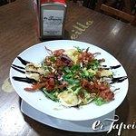 Ensalada en Cafetería Bar er Tapeillo, Almuñécar.