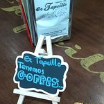 Postres en la Cafetería Bar er Tapeillo, Almuñécar.