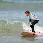 On peut commencer le surf à partir de 6 ans.