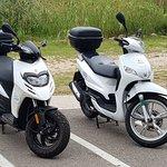 motos en el aeropuerto Menorca Motos Rent