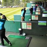 20 bay driving range with the latest Toptracer technology