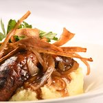 Delicious food & real ales in our Bistro