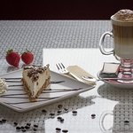 Cakes with Coffee Latte BOU