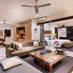 Rooftop Suite - Living Area