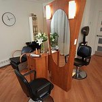 Hair Salon, located in our spa