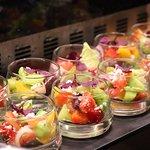 Saffron - buffet display