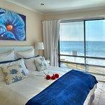 Seaside Luxury Apartment has romantic views onto the waves