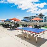 Patio Area/ Gas Grills/ Shuffle Board/ Ping Pong