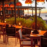 Apsara an East Indian Caribbean fusion restaurant at the Trou Au Diable beach restaurant