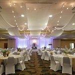 Convention Center set for wedding