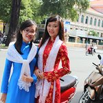 Vietnam traditional dress
