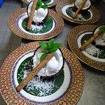 Kokosnuss Eis
