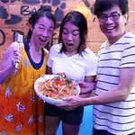 Claudia and Family ( Hong Kong )