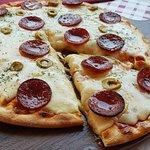 Pizza de Salami
