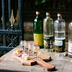 Young genever tasting