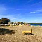 Gulf State Park Lake Shelby Dog Park agility equipment