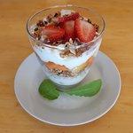 Breakfast Health Parfait