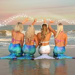 Become mermaids for your bachelorette party in Hilton Head