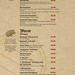 Our Food Menu - page 2