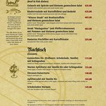 Our Food Menu page 4