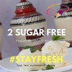 Helado Yogurt Cero azúcar/sugar free