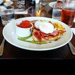 Breakfast at The Oxford restaurant in Timaru