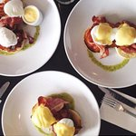 Eggs at The Oxford restaurant in Timaru