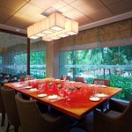 HEAT private dining area