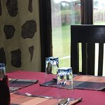 One of our restaurant tables