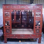 Chinese Antique Bed