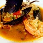 Seafood Fregola