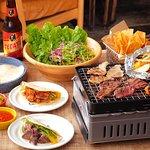 aloha amigo HARAJUKU BBQプラン~野菜も肉も堪能!充実の飲み放題プラン付きで、ビアガーデンを楽しめます!