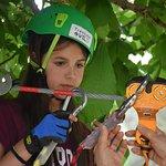 parco avventura sugli alberi in val di sole con Trentino WILD