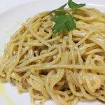 Espaguetis a la trufa blanca