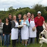 Learn about cheese production during a cheese making demonstration in Ireland - Traveling Spoon