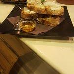 Lardo aromatizzato,pepe e miele...